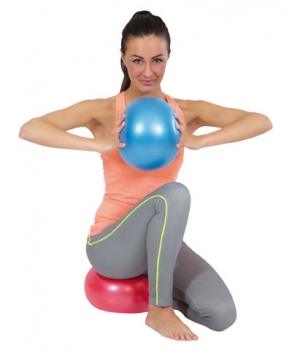 red Overball 25/cm Blue Red Yellow Pilates Ball Gym Ball Soft Pilates Yoga ///Therapy Ball Gymnic Yoga Exercise Ball